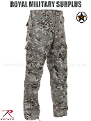 Army Military Tactical Combat Pants - Total Terrain Camouflage Universal Pattern