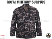 US Marines Digital Subdued Combat shirt - MARPAT Camouflage Subdued Pattern
