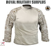 US Marines Digital Desert Tactical Combat Shirt - MARPAT Camouflage Desert Pattern