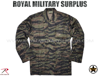 US Marines Combat Shirt - Tiger Stripe Camouflage