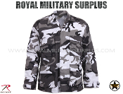 City Tactical Combat shirt - Urban Camouflage Tactical Pattern