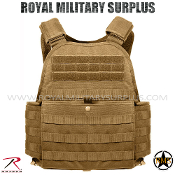 Army Military Tactical vest Plate carrier - Coyote Camouflage Desert Arid Pattern