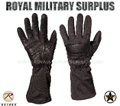 Army Military tactical gloves special forces - Black Camouflage