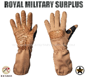 Army Military Tactical Gloves - Coyote Camouflage Desert Arid Pattern