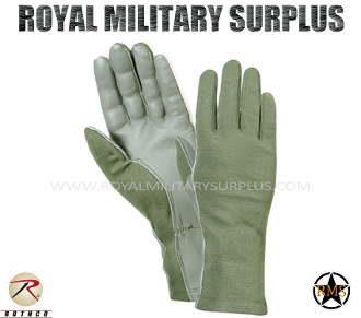 Army Military tactical gloves gi - OD Green Camouflage