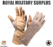 Army Military tactical gloves gi - Desert Tan Camouflage Arid Pattern