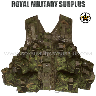 Canadian Digital Tactical Vest - CF Forces - CADPAT Temperate Woodland