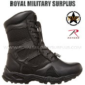 Army Military Tactical Boots - Black Camouflage