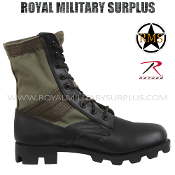 Army Military tactical military boots - OD Green Camouflage