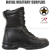 Army Military commando boots - Black Camouflage