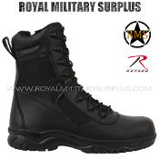 Army Military Tactical commando boots - Black Camouflage