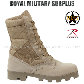 Army Military boots frontline - Desert Tan Camouflage Arid Pattern