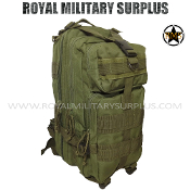 Army Military backpack tactical assault - OD Green Camouflage