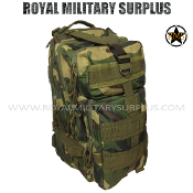 US Army Backpack Tactical Assault - US Woodland Camouflage M81 Pattern