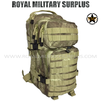 Army Military Tactical Concealment Backpack Tactical Assault - A-TACS AU Camouflage Desert Arid Pattern