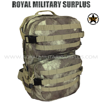 Army Military Tactical Concealment Backpack Operator Molle - A-TACS AU Camouflage Desert Arid Pattern