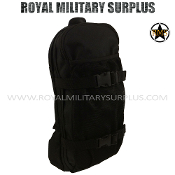 Army Military hydration pack - Black Camouflage