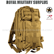 Army Military Backpack Tactical Assault MOLLE - Coyote Camouflage Desert Arid Pattern