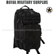 Army Military Tactical Backpack tactical assault - Black Camouflage