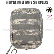 US Army Military Digital Medic Pouch MOLLE - ACU Camouflage Universal Pattern
