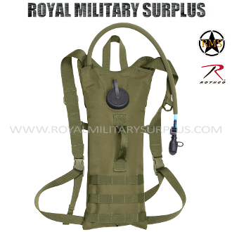 Army Military hydration pack - OD Green Camouflage