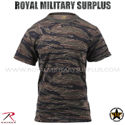 US Marines T-Shirt - Tiger Stripe Camouflage