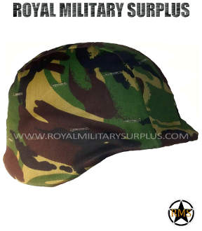 UK British Army Helmet Cover Pasgt - DPM Woodland Disruptive Camouflage