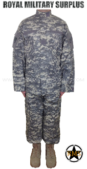 US Army Military Digital Combat Uniform - ACU Camouflage Universal Pattern ucp