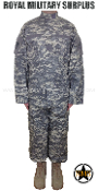 US Army Military Digital Combat Uniform - ACU Camouflage Universal Pattern