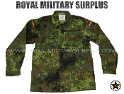 German Army Military Combat shirt - Flecktarn Camouflage Bundeswehr woodland