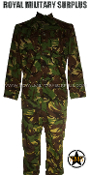 UK British Army Combat Uniform - DPM Woodland Disruptive Camouflage