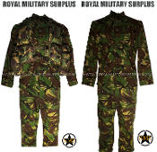 UK British Army Heavy Kit Uniform - DPM Woodland Disruptive Camouflage