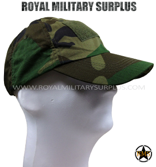US Army Tactical Cap - US Woodland Camouflage M81 Pattern