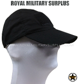 Army Military tactical cap - Black Camouflage