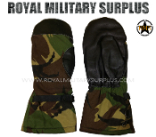 UK British Army Mittens Goretex - DPM Woodland Disruptive Camouflage