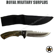 Knife Hunting Survival Steel Oak