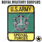 Patch - Military Emblema - US ArmySpecial Forces (Green Beret)