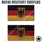 Patch - Flag Set (National) - Germany (Bundeswehr)