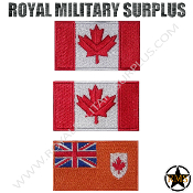 Patch - Flag Set/Tactical Kit (National) - Canada