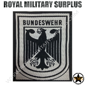 Patch - Military Emblema - Bundeswehr (Black/Grey)