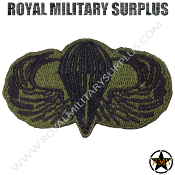 Patch - Paratrooper Insigna (OD Green/Black)