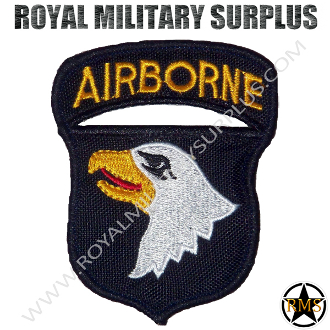 Patch - Military Insignia - 101st Airborne (Screaming Eagle)