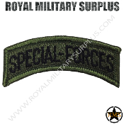 Patch - Military Insignia - Special Forces (OD Green)