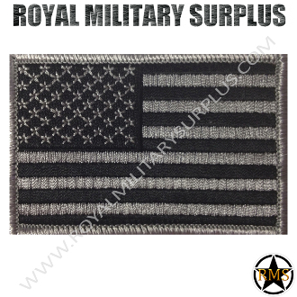 Patch - Flag (National) - USA (Subdued/Gray)