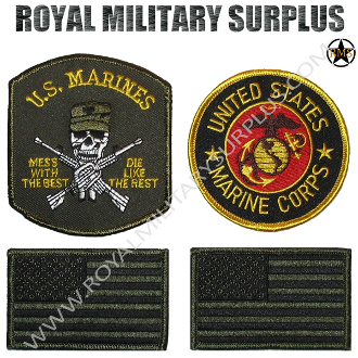 Patch - Tactical Kit - US Marines Corps (OD Green)