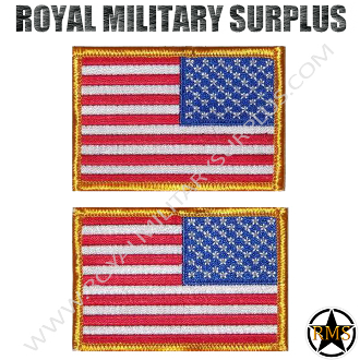 Patch - Flag Set (National) - USA (Reverse/Tactical)