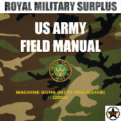 Field Manual - US Army - Machine Guns (M249-M60-M240B)