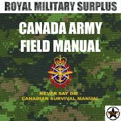 Field Manual - Canada Army - Never Say Die (Survival Manual)