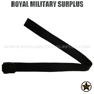 US Marines Emblema Belt - Black Camouflage