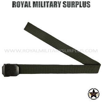 US Marines tactical Belt - OD Green Camouflage